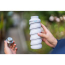Que Collapsible Bottle - Charcoal