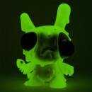 "Kidrobot Meltdown Dunny 8"""" Vinyl Figure (Green Variant) by Chris Ryniak"