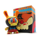 Kidrobot No Strings on Me Dunny 8 Inch Vinyl Figure by WuzOne