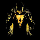 Shazam Lightning Silhouette Men's T-Shirt - Black