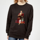Shazam Bubble Gum Women's Sweatshirt - Black