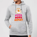 Hamsta Pizza Movie Repeat Hoodie - Grey