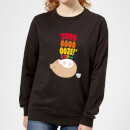 Hamsta Snooooooooze Women's Sweatshirt - Black