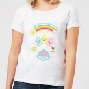 Hamsta Cotton Candy Dreams Women's T-Shirt - White