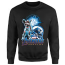 Sweat-shirt Avengers: Endgame War Machine Suit Homme - Noir