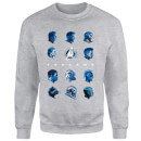 Avengers: Endgame Heads Sweatshirt - Grey