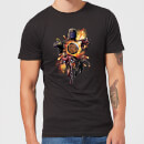 Avengers: Endgame Explosion Team Men's T-Shirt - Black