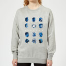 Avengers: Endgame Heads Women's Sweatshirt - Grey