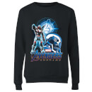 Sweat-shirt Avengers: Endgame War Machine Suit - Femme - Noir