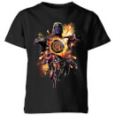 Avengers: Endgame Explosion Team Kids' T-Shirt - Black