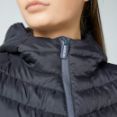 Superdry Women's Helio Fuji Hooded Jacket - Black