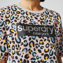 Superdry Women's Lilly Graphic T-Shirt - Liona Leopard