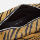 Núnoo Women's Donna Shoulder Bag - Brown Zebra