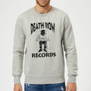 Death Row Records Logo Dark Sweatshirt - Grey