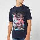 BOSS Men's Toll 1 Shanghai Print T-Shirt - Navy