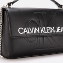 Calvin Klein Jeans Women's Monogram Cross Body Bag - Black