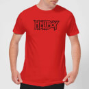 Hellboy Logo Men's T-Shirt - Red