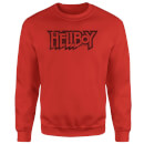 Hellboy Logo Sweatshirt - Red
