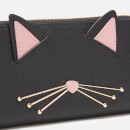 Kate Spade New York Women's Cat Lindsey Wallet - Black Multi