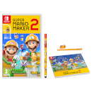 Super Mario Maker 2 Pack (Pad and Pencil)