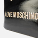 Love Moschino Women's Logo Charm Tote - Black