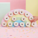 Ginger Ray Pastel Rainbow Donut Wall
