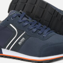 BOSS Men's Parkour Running Style Trainers - Navy