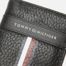 Tommy Hilfiger Men's Corporate Leather Mini Credit Card Bifold - Black