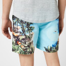 Orlebar Brown Men's Bulldog Photographic Swim Shorts - Pooling Around