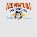 Ace Ventura Serve And Protect Your Pets Women's T-Shirt - Grey