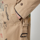 Polo Ralph Lauren Men's Balmacaan Graphic Belted Jacket - Desert Khaki