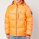 Polo Ralph Lauren Men's Jackson Down Hooded Jacket - Shocking Orange