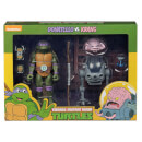 "NECA Teenage Mutant Ninja Turtles 7"" Scale Action Figure Target Exclusive Donatello Vs Krang In Bubble Walker 2 Pack"