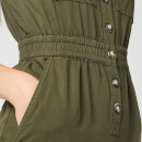 Whistles Women's Ria Denim Jumpsuit - Khaki