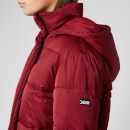 HUGO Women's Fenjas Short Puffa Jacket - Open Red