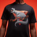 "Jurassic Park Primal ""When Dinosaurs Ruled The Earth"" T-Shirt Unisexe -Noir"