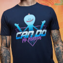 Rick and Morty Get Schwifty Meeseeks Can Do T-Shirt - Navy