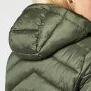 Barbour International Women's Hampton Quilt Coat - Moto Green