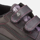 Vans X Harry Potter Toddler's Deathly Hallows Old Skool Velcro Trainers - Black
