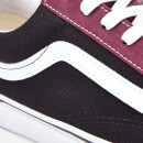 Vans Men's Style 36 Vintage Suede Trainers - Prune/Black