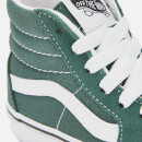Vans Kids' Sk8-Hi Trainers - Trekking Green/True White