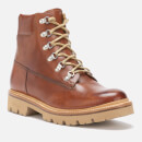 Grenson Men's Rutherford Hand Painted Leather Hiking Style Boots - Tan