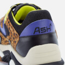 Ash Women's Addict Chunky Running Style Trainers - Black/Black/Tan/Indigo/Lime