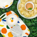 Kate Spade Citrus Twist Serving Tray