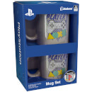 PlayStation Player One and Player Two Mug Set
