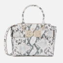 Guess Women's Carina Society Satchel - Pink Python