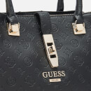 Guess Women's Peony Classic Girlfriend Carryall Bag - Black