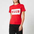 MSGM Women's Logo T-Shirt - Red