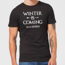 Game of Thrones Winter Is Coming Men's T-Shirt - Black