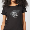 Game of Thrones King In The North Women's T-Shirt - Black